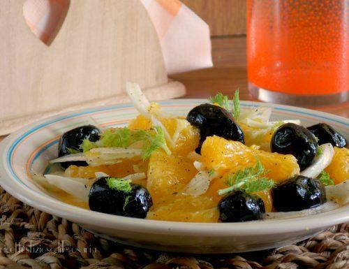 Insalata di arance finocchio e olive