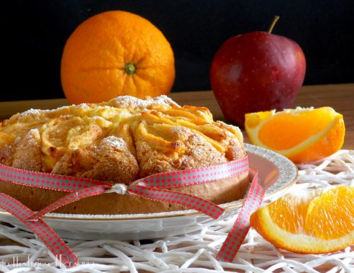 Pan di arancia con mele