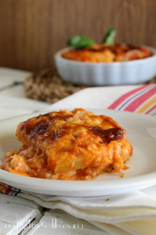 lasagna patate