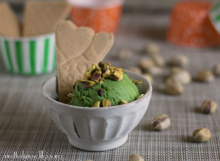 Gelato pistacchio senza gelatiera