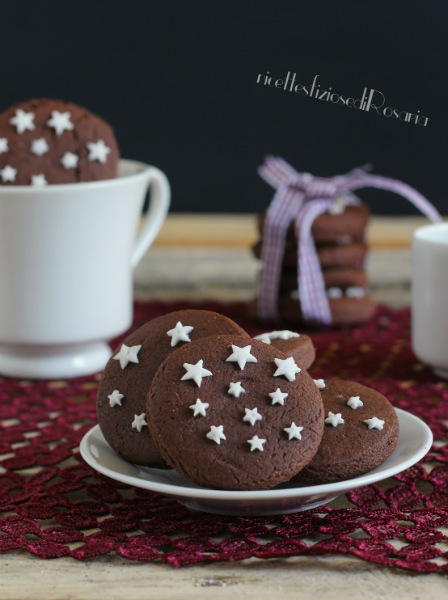 ede061aac637 Biscotti pan di stelle fatti in casa - ricettesfiziosedirosaria