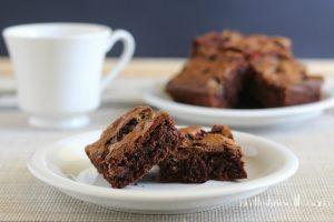 Brownies cioccolato al latte e smarties