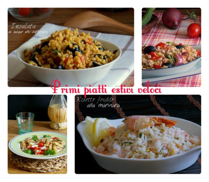 Primi piatti estivi ricette insalate di riso di pasta e for Primi piatti veloci