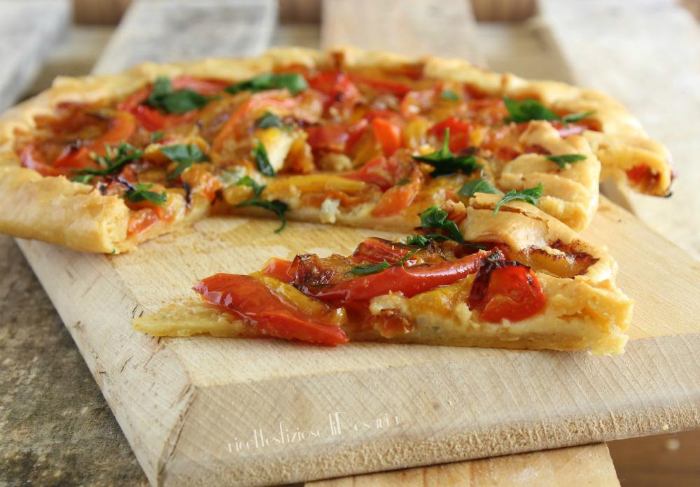 rustico peperoni e gorgonzola