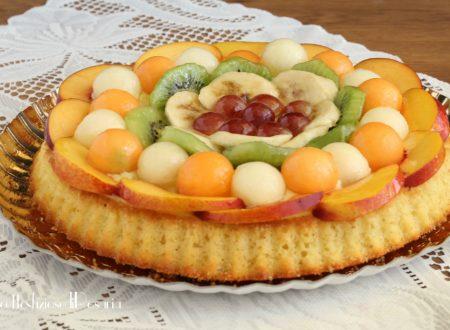 Torta frutta e crema