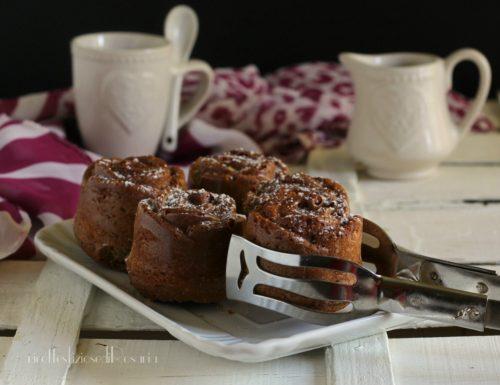 Tortine cioccolato e caffè