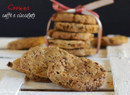 Cookies caffè e cioccolato