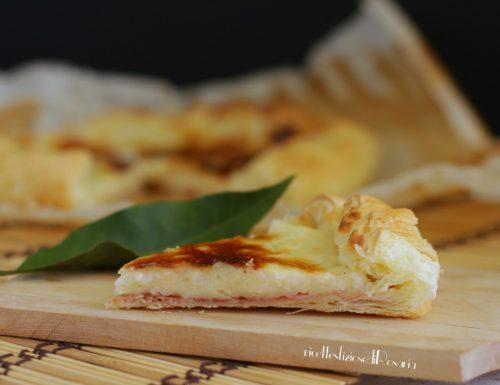 Torta rustica prosciutto e besciamella
