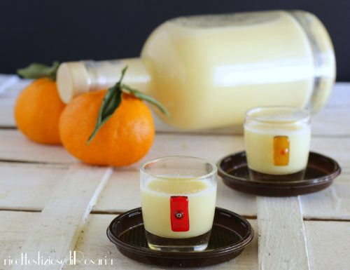 Liquore crema al mandarino