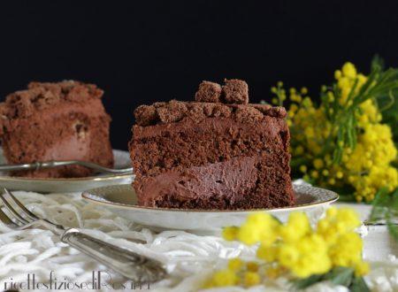 Torta mimosa al cioccolato