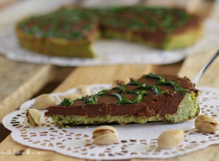 Crostata pistacchio e cioccolato