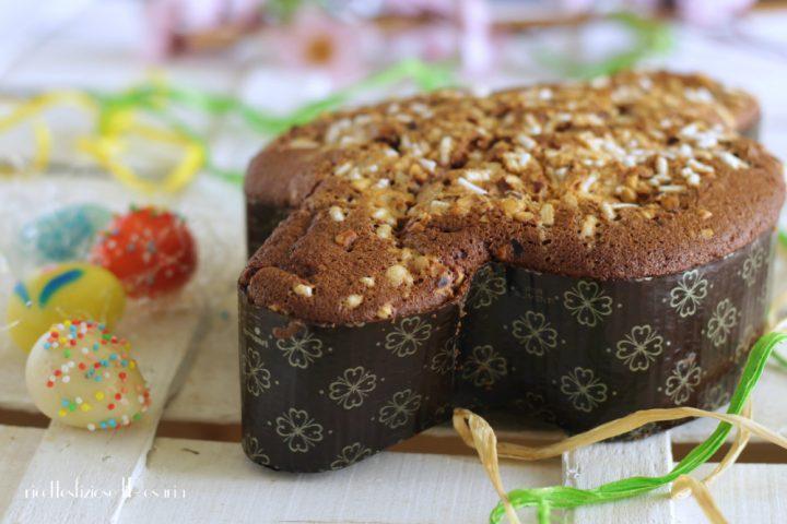 torta colomba al cacao
