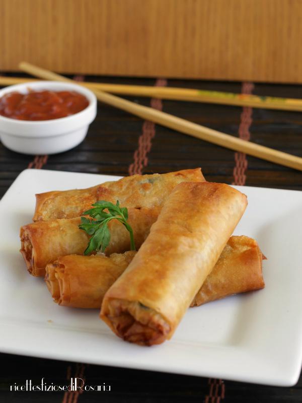 involtini cinesi fritti