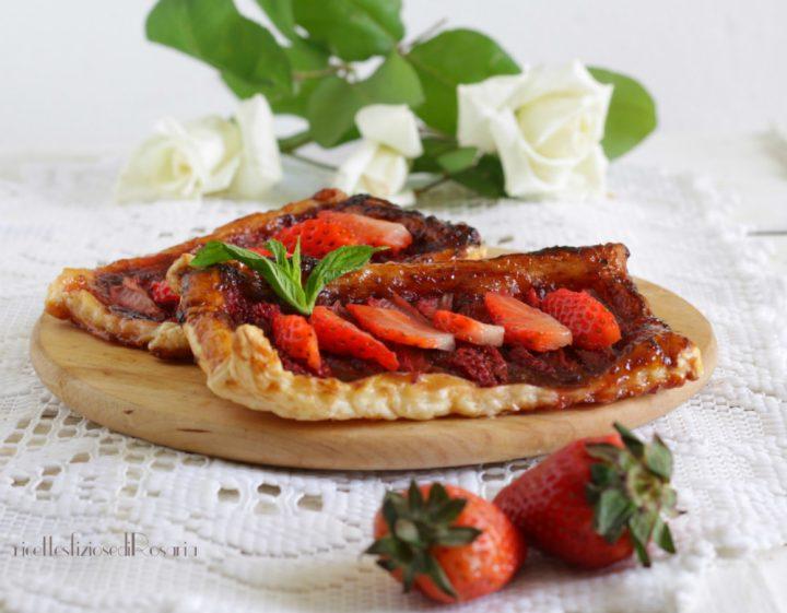 sfogliatine fragole e confettura