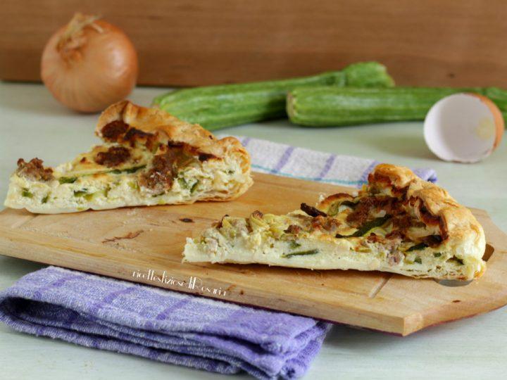torta di zucchine e ricotta
