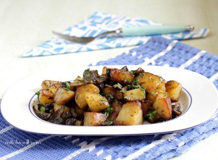 Funghi e patate trifolati