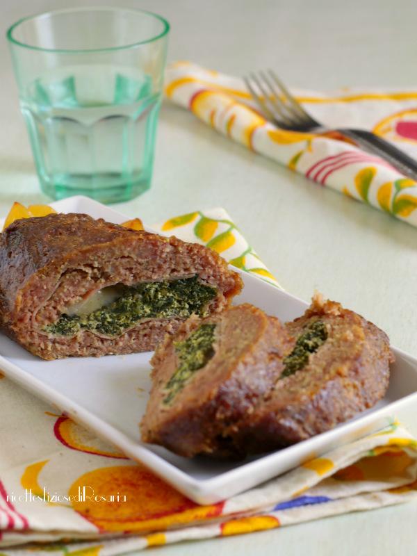 polpettone ricotta e spinaci