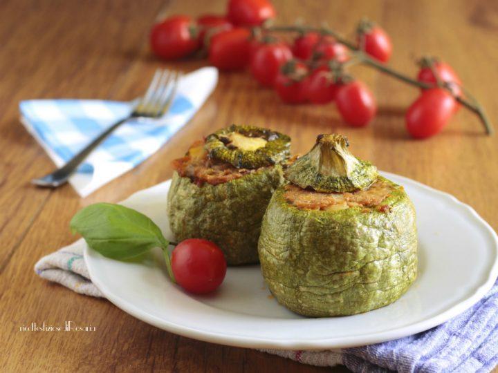 zucchine tonde tonno