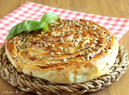 Spirale salata con speck e camembert