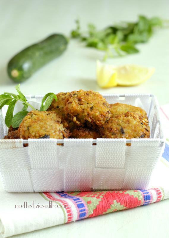 polpette bulgur e zucchine