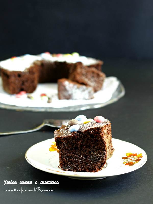 dolce cacao e smarties