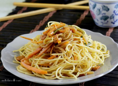 Spaghettini alla cinese