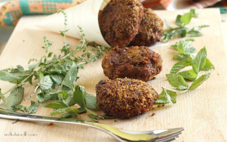 Polpette di carne con patate e menta