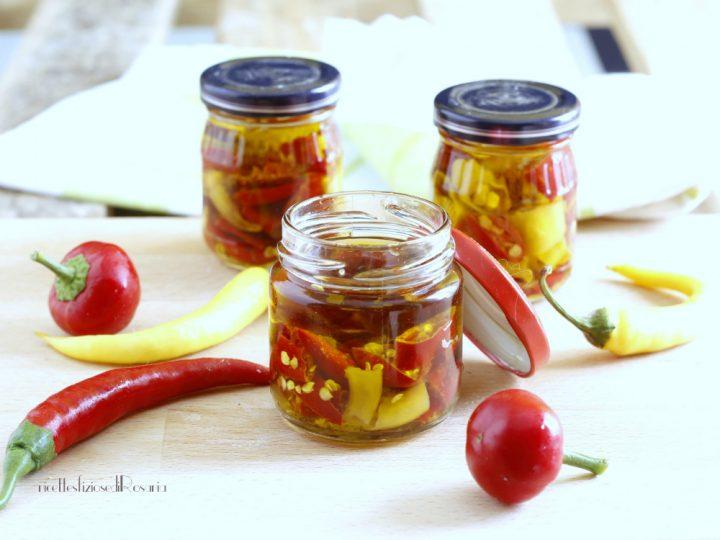 olio di peperoncini