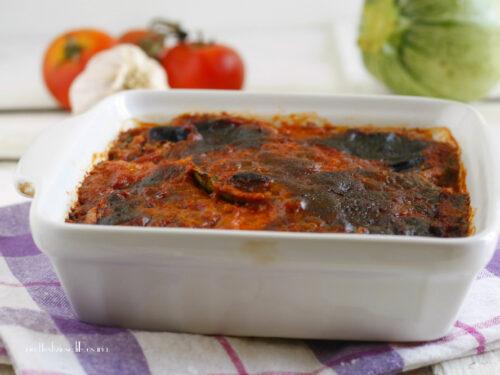 Zucchine rotonde alla parmigiana