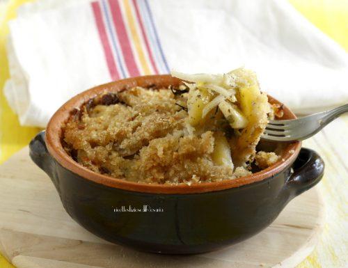Patate e topinambur al forno aromatizzate