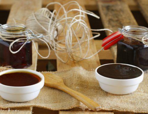 Topping al caramello e al cioccolato