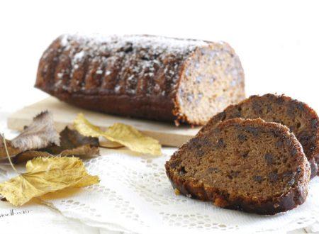 Plumcake con cachi e farina di castagne