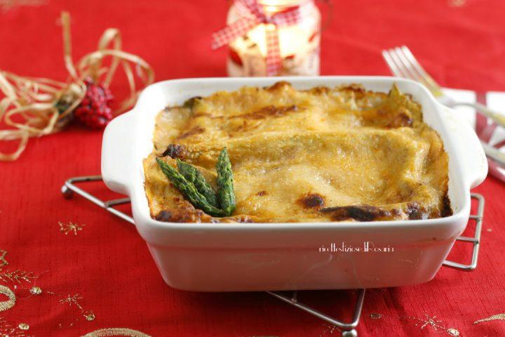 lasagna asparagi e salmone