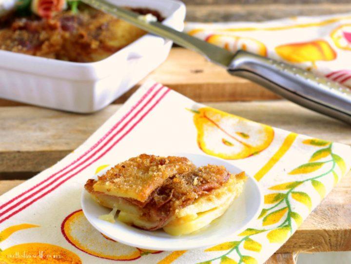 sformato patate salame