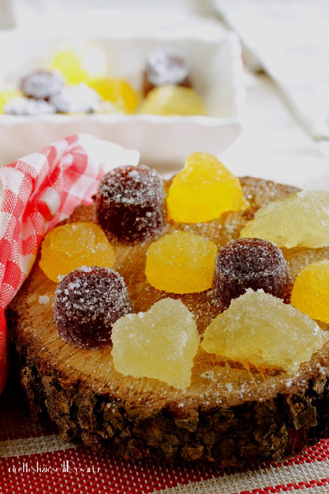 gelatine di frutta assortite