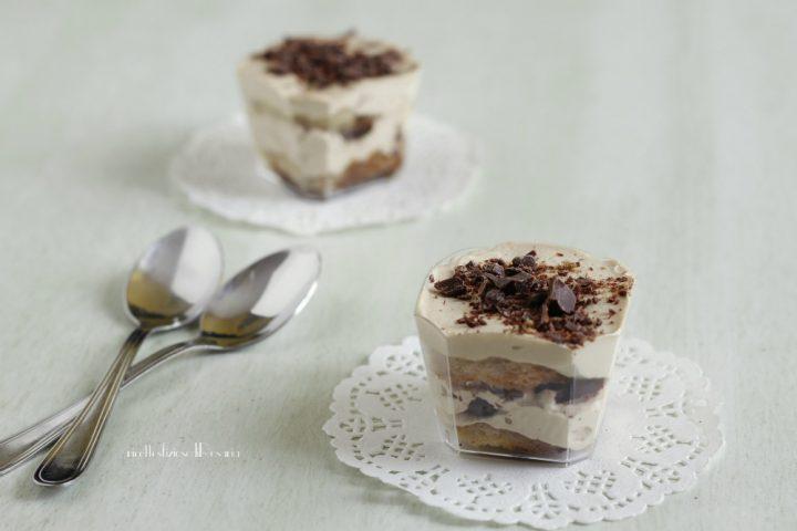 pandoro con crema caffe