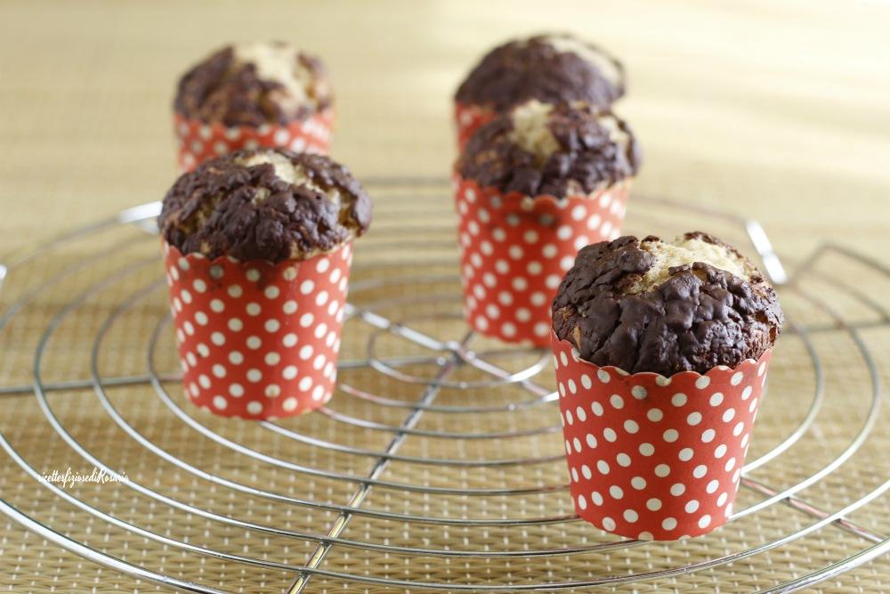 muffins nocciola e cioccolato