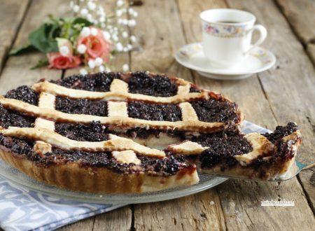 Crostata mascarpone e confettura