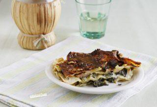 lasagna broccoletti e salsiccia