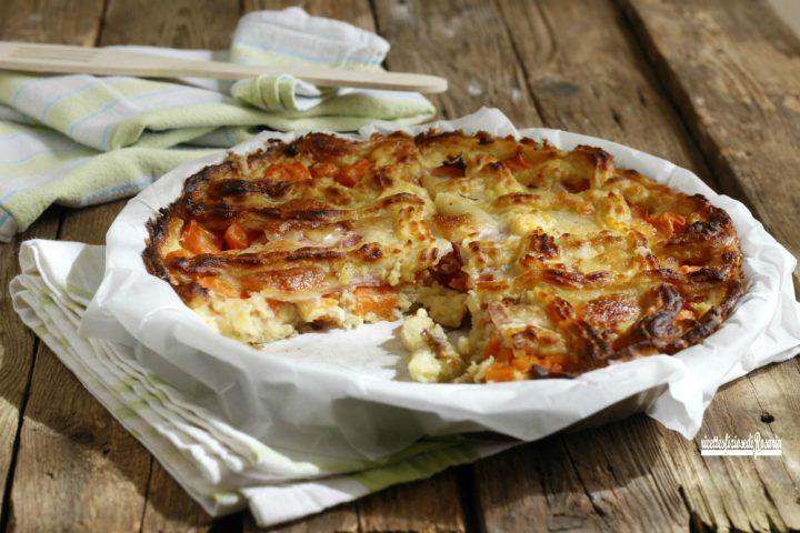 crostata salata di patate