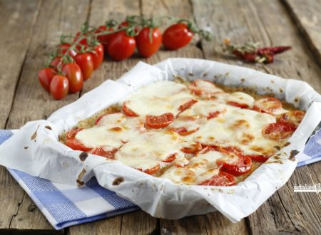 Pizza di cavolfiore piccante