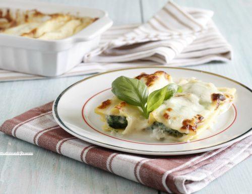 Cannelloni ricotta e spinaci veloci