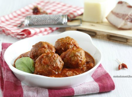 Polpette all'amatriciana