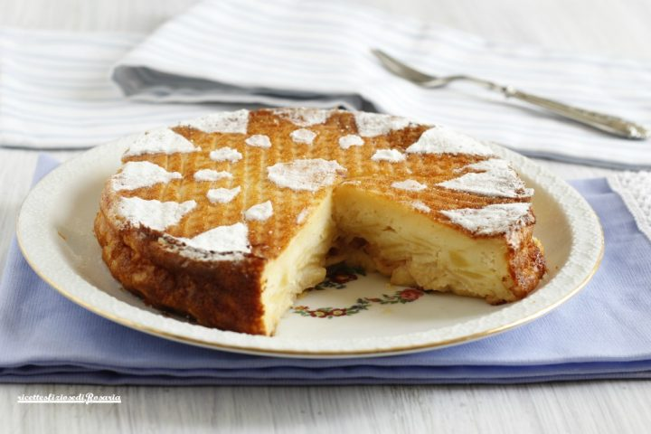 torta di mele cremose