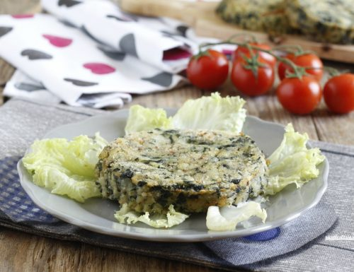 Medaglioni patate e spinaci ripieni
