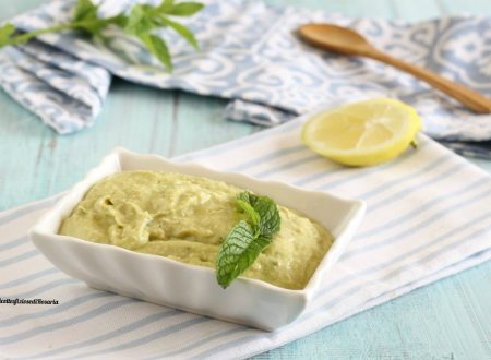 Crema avocado menta e limone