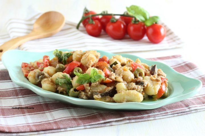 gnocchi freddi verdure