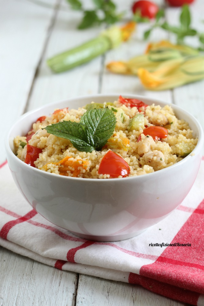 cous cous pesce zucchine