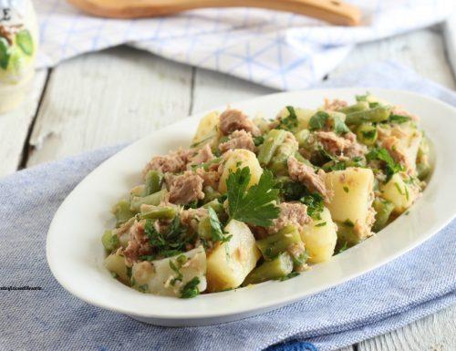 Insalata di tonno fagiolini e patate
