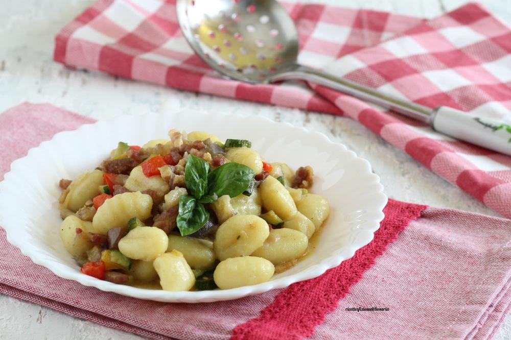 gnocchi con verdure estive